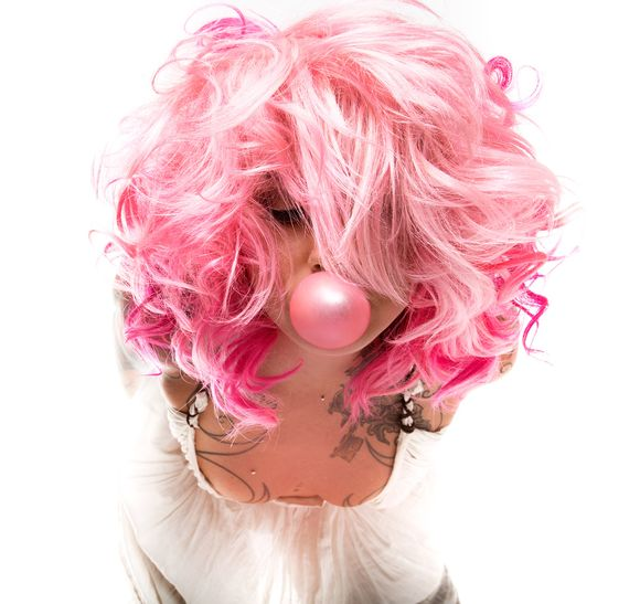 Pink Hair by Samantha Law